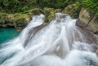 Drivers River in the John Crow Mountains, Jamaica