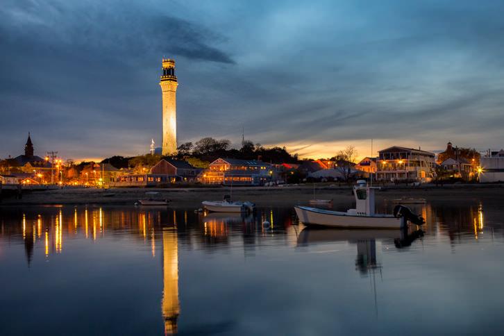 Provincetown at Dusk
