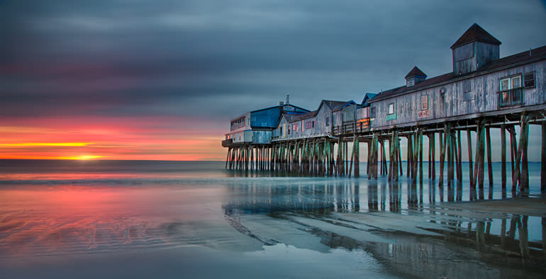 Old Orchard Pier Sunrise