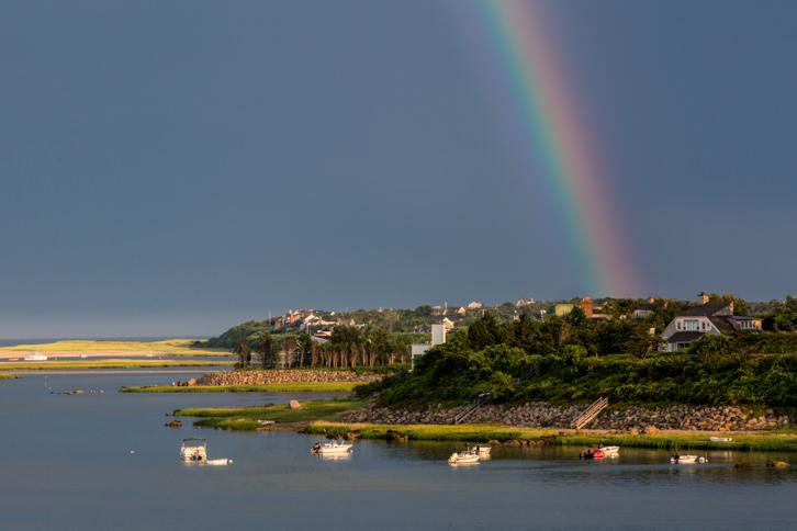 Rainbow Over Eastham