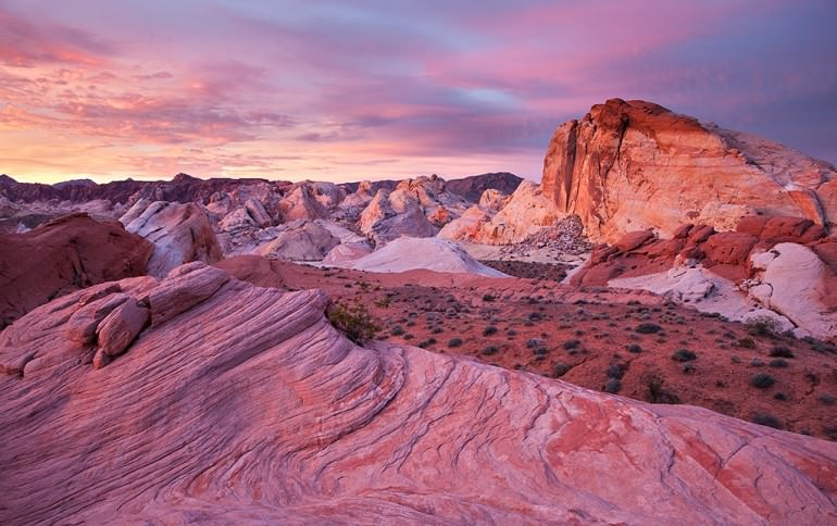 Valley of Fire Dawn
