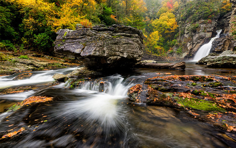 Linville Falls Autumn
