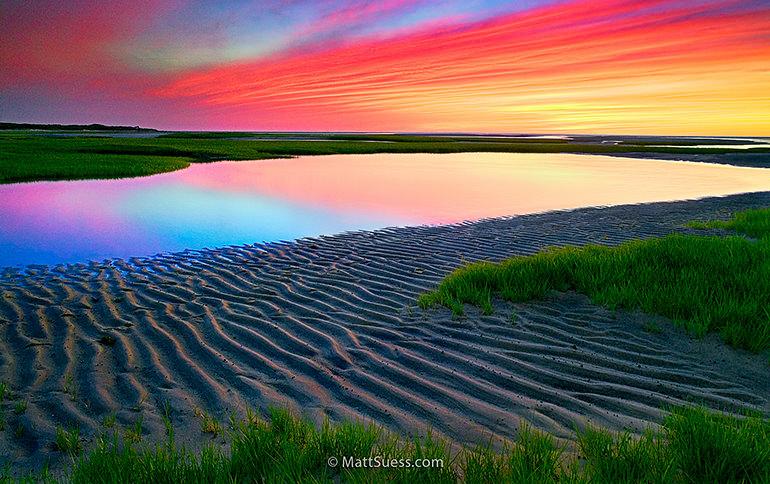 Paines Creek Sunset