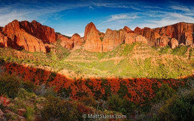 Kolob Canyons Sunset