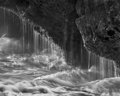 Sea Cave Splash Drip