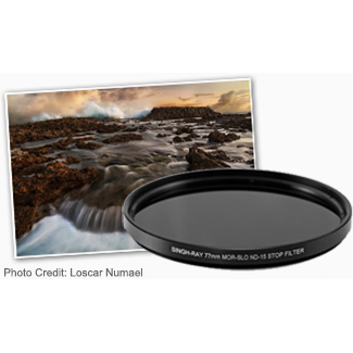 Mor-Slo Solid Neutral Density (ND) Filter