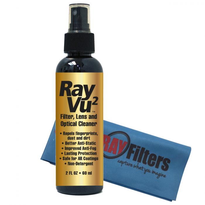 RayVu™ Optical Cleaner with Microfiber Cloth