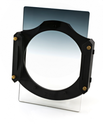 "Z-Pro filter holder with Rowell 100×150 (4""x6"") rectangular graduated ND"