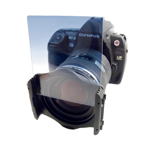Cokin Filter Holder Shown In Use
