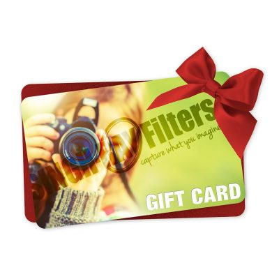 Singh-Ray Filters Gift Card with Red Ribbon