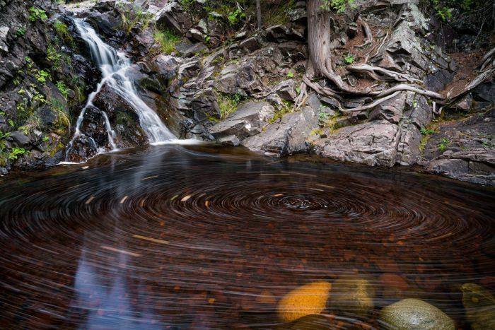 Swirling Water Photo by Bryan Hansel