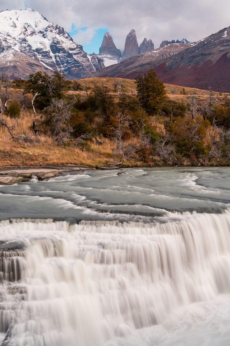Waterfall, Torres de Paine - Tom Bol