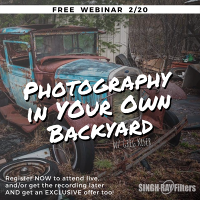 Photography in Your Own Backyard w/ Greg Kiser